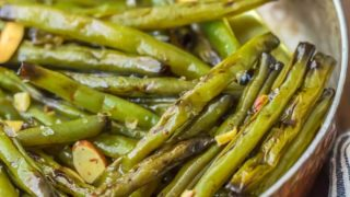 Sauteed Green Beans Recipe with Molasses