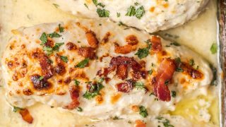 Ranch Baked Chicken with Bacon (Bacon Ranch Chicken)