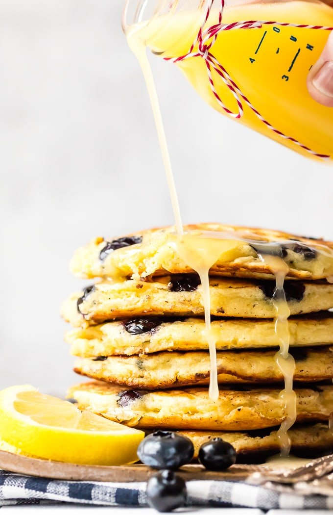 Lemon syrup for pancakes