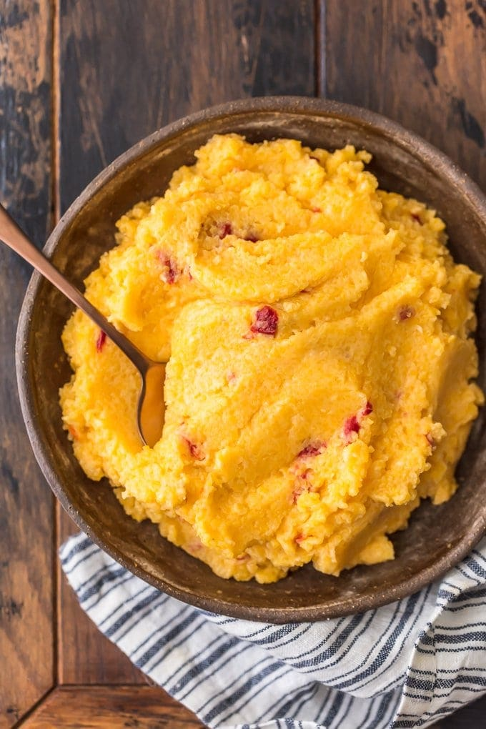 Pimento Cheese Grits recipe in a bowl