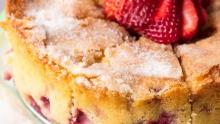 Strawberry Buttermilk Cake Recipe