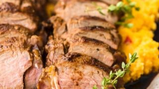 Sweet Tea Pork Tenderloin