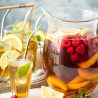 Sweet Tea Sangria (Moscato Sangria Recipe)
