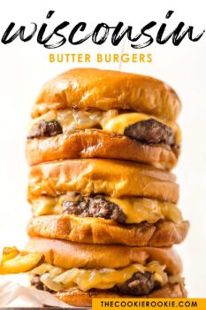 wisconsin butter burgers pinterest