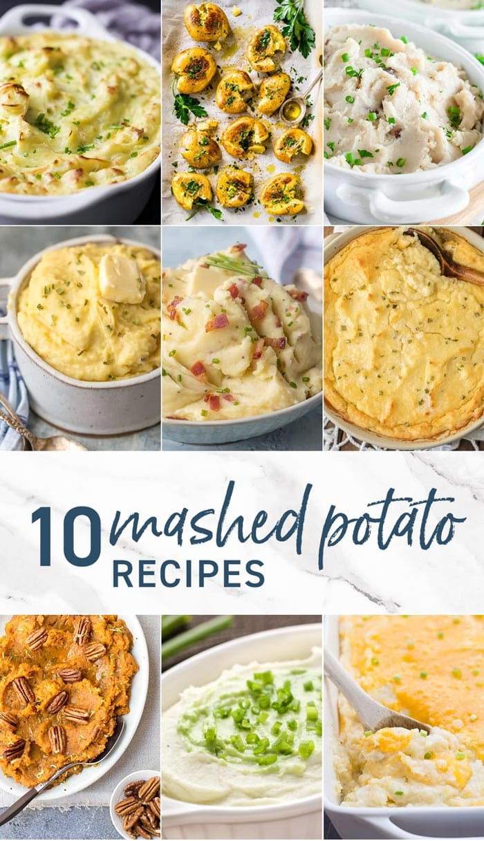 10 Mashed Potato Recipes