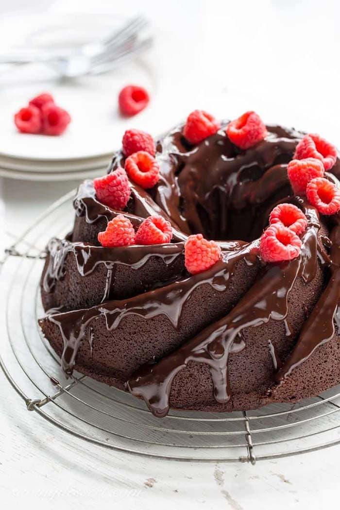 Chocolate Bundt Cake   Saving Room for Dessert