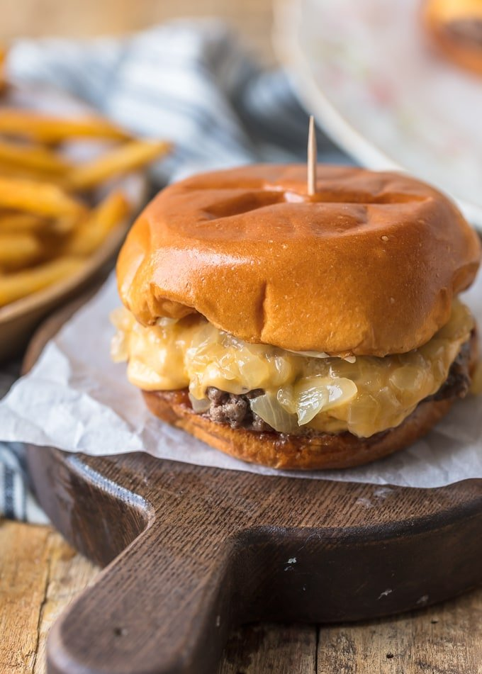 Classic Wisconsin Butter Burger recipe