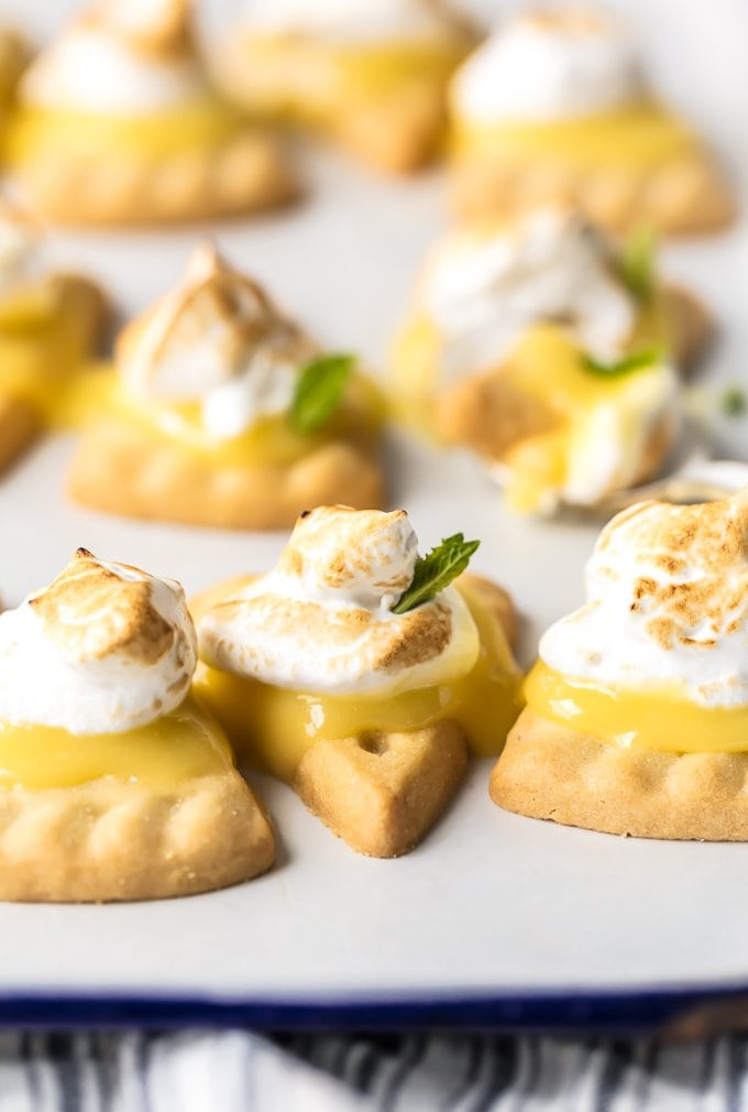 easy lemon meringue pie cookies