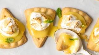 Easy Lemon Meringue Cookies