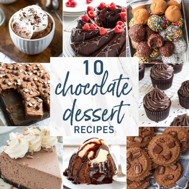 10 Chocolate Dessert Recipes