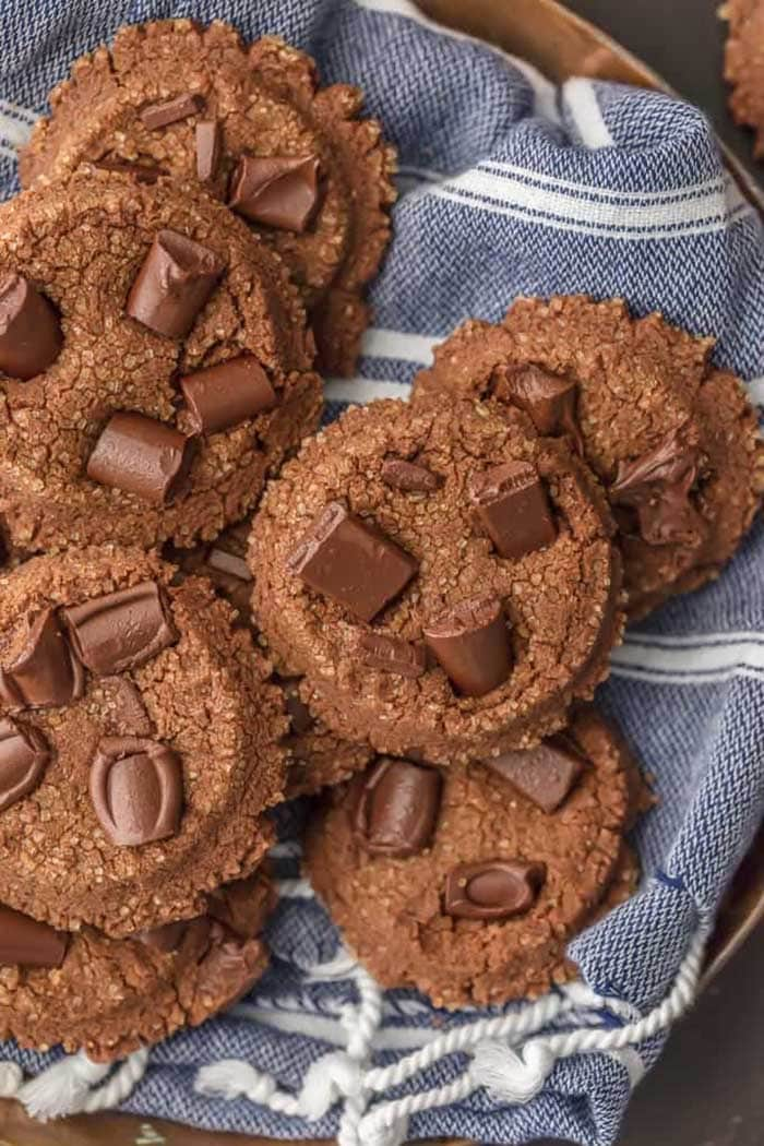Double Chocolate Sugar Cookies   The Cookie Rookie