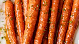 Honey Glazed Carrots Recipe with Ginger