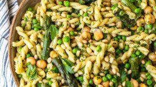 Green Goddess Pasta Salad Recipe