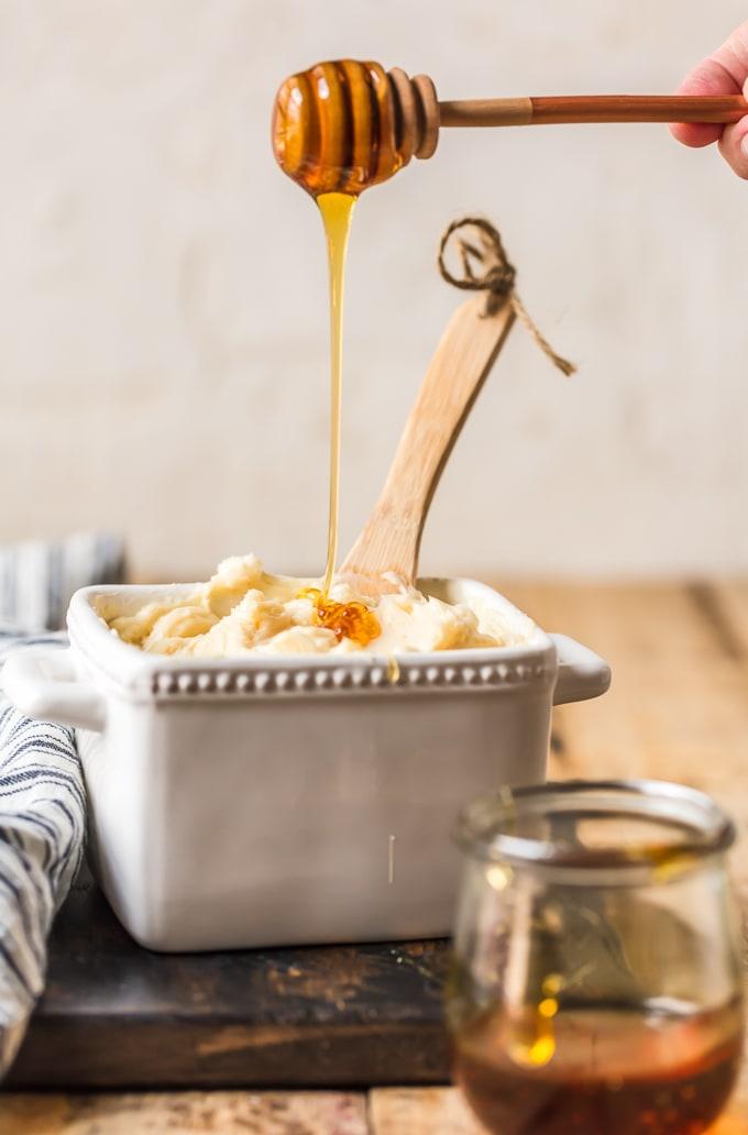 Homemade honey butter
