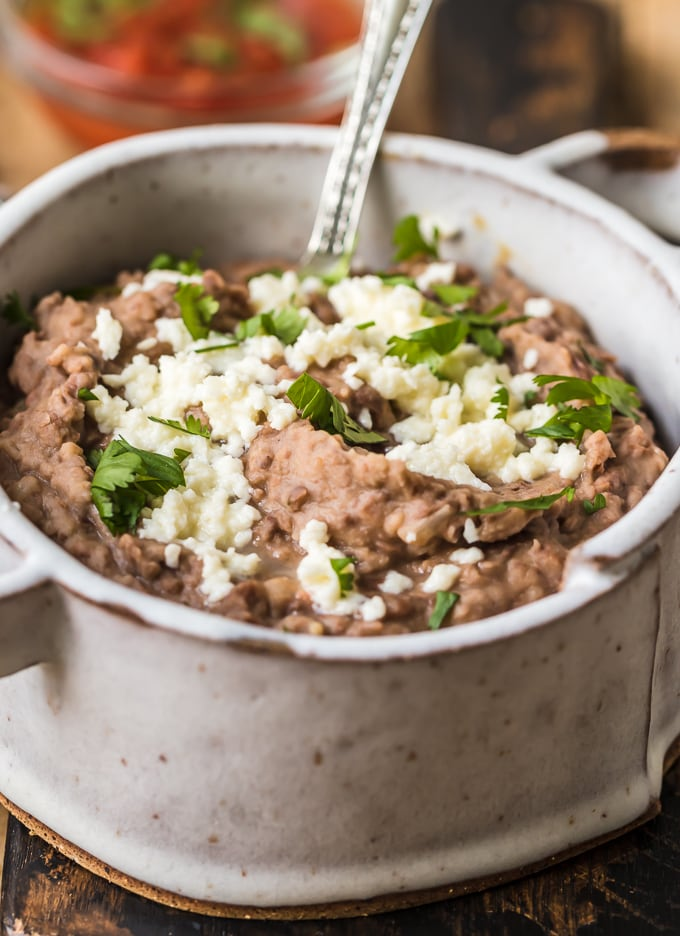 The best refried beans recipe