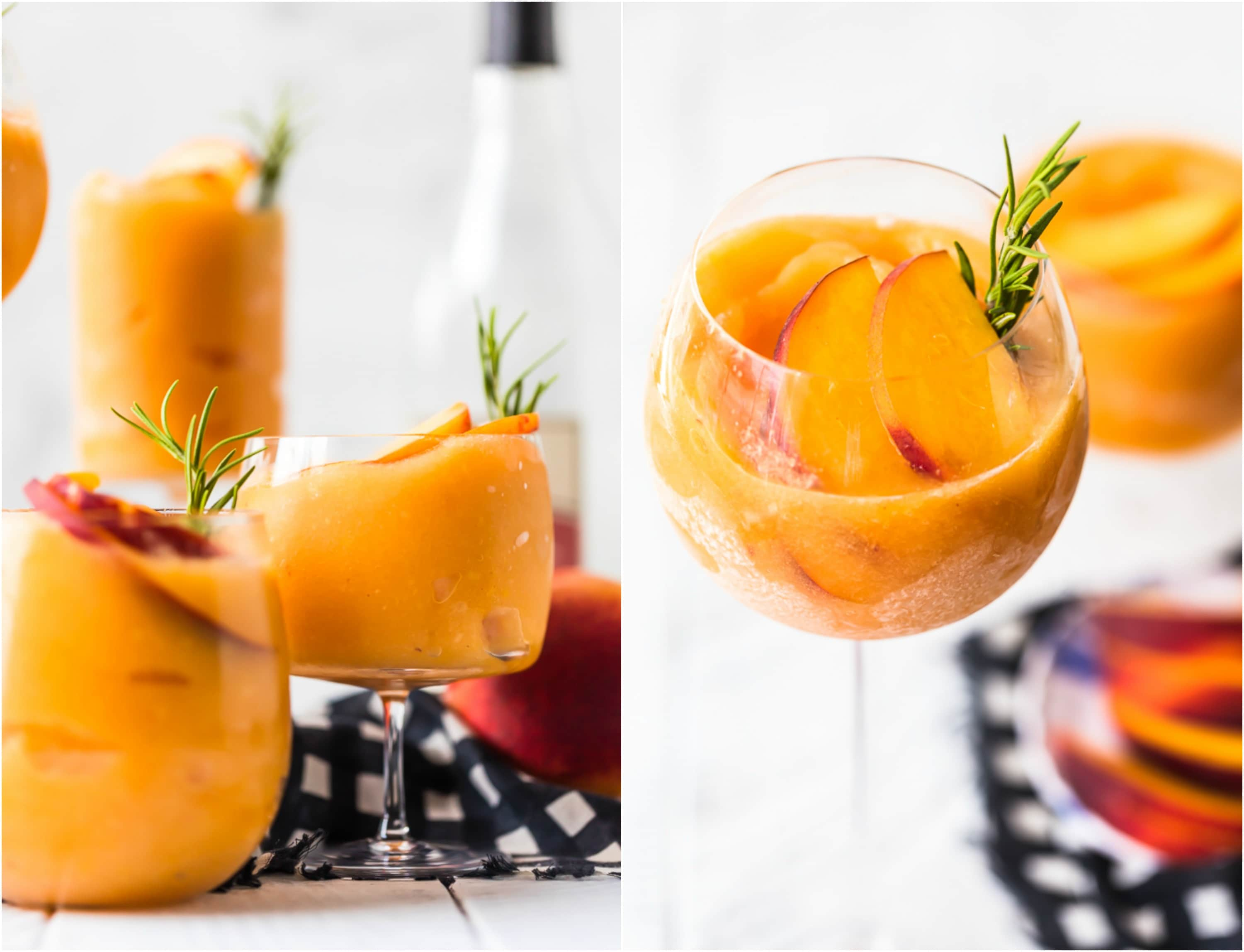How to make Frose, Peach Frozen Rose
