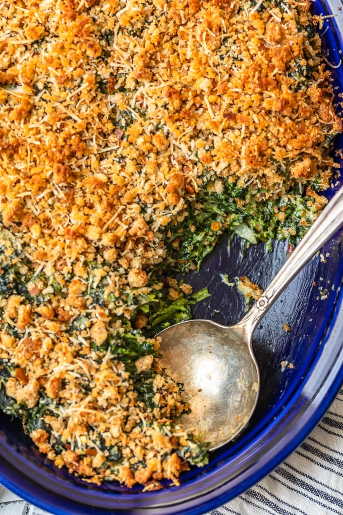 Spinach Gratin Creamed Spinach Casserole Video