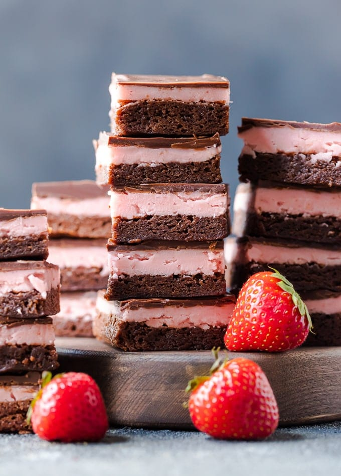 Chocolate Covered Strawberry Brownie recipe