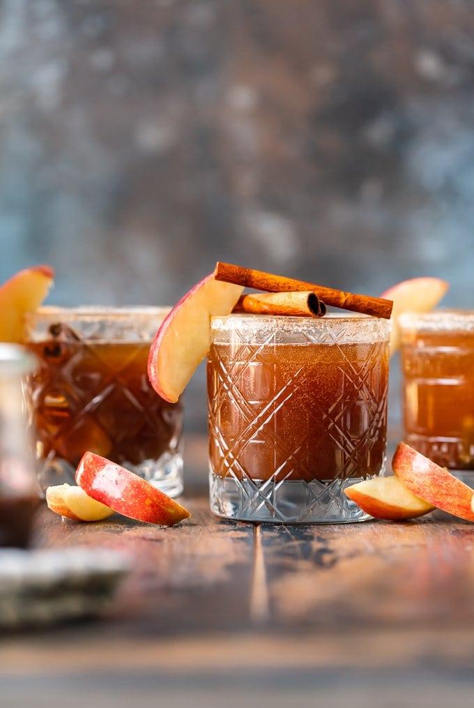 apple butter cocktails