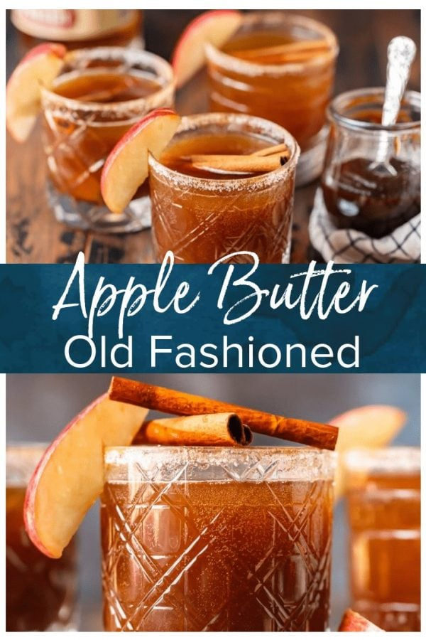 This Apple Butter Old Fashioned Cocktail is the perfect way to ring in the fall season! Cozy up and celebrate apple season with the most delicious apple cocktail. This creative recipe puts a festive spin on an old favorite, creating a drink that no one can resist!