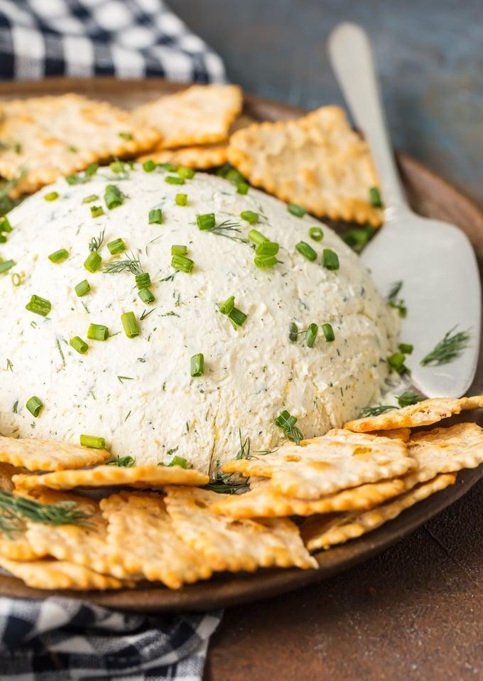 Herb Coeur a la Creme, savory cream cheese dip