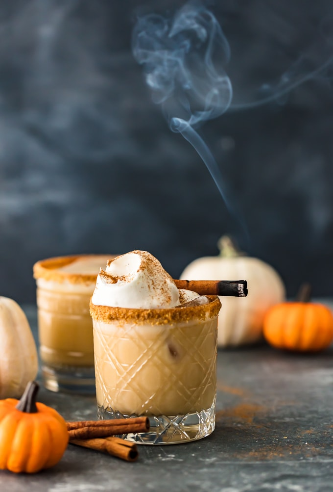 Pumpkin Spice White Russian (Fall Cocktails)