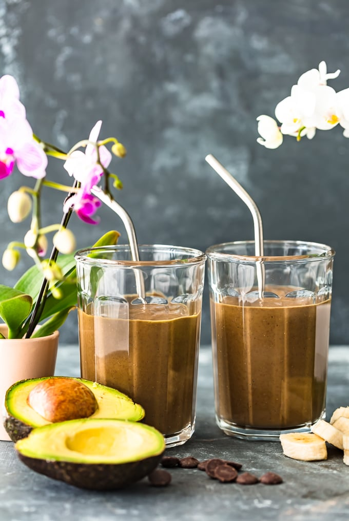 This Triple Chocolate Detox Smoothie Recipe is a healthy and delicious way to start your day. When you're stressed or busy, there's no easier breakfast than a smoothie! Why not make it healthy while still tasting good? This healthy Chocolate Smoothie has it ALL, including lots of protein.