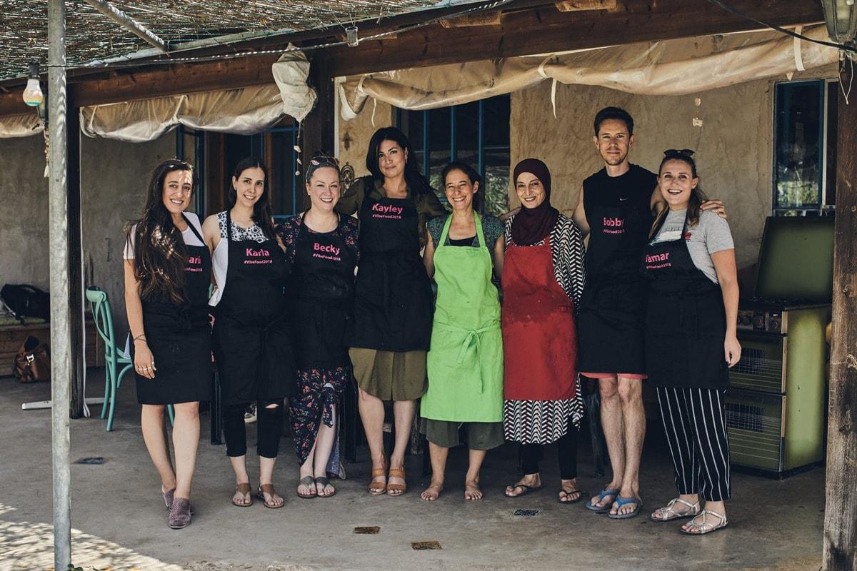 bloggers visiting Galilee Israel