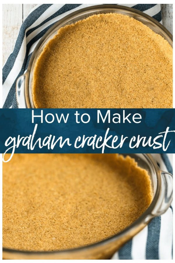 Graham Cracker Crusts add such a fun flavor and texture to cheesecakes and pies. This homemade graham cracker crust recipe is so easy to make, and doesn't require any baking. It's perfect for no bake desserts and makes for a special holiday treat!