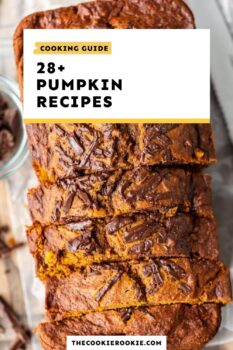 pumpkin recipes guide