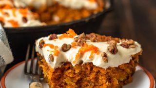 Skillet Carrot Cake Recipe