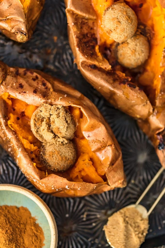 How To Make The Perfect Baked Sweet Potato Video