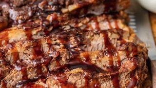 Oven Baked BBQ Beef Brisket Recipe
