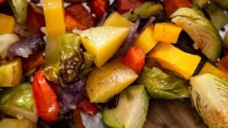 Simple Oven Roasted Vegetables Recipe
