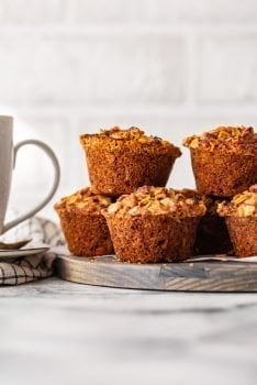 Morning Glory Muffins are the perfect healthy breakfast muffins. This morning glory muffin recipe is filled with all kinds of good stuff that will help you start the morning right!