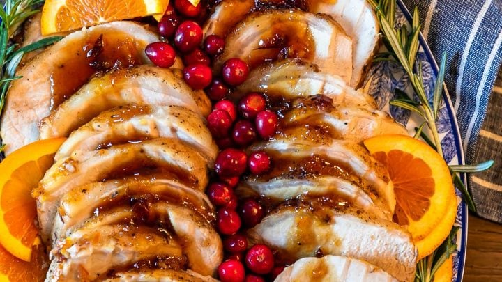 Orange Cranberry Pork Loin Roast Recipe (Roasted Pork)