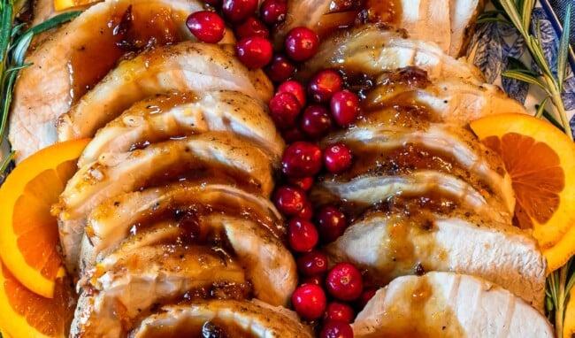 orange cranberry pork loin roast