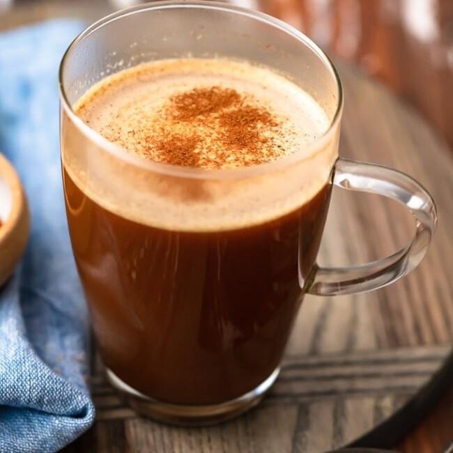 keto coffee in mug