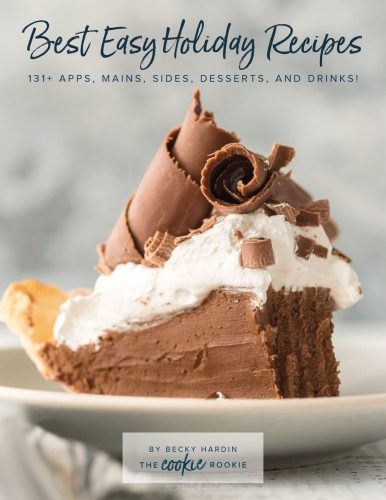 Cookbook cover for Best Easy Holiday Recipes