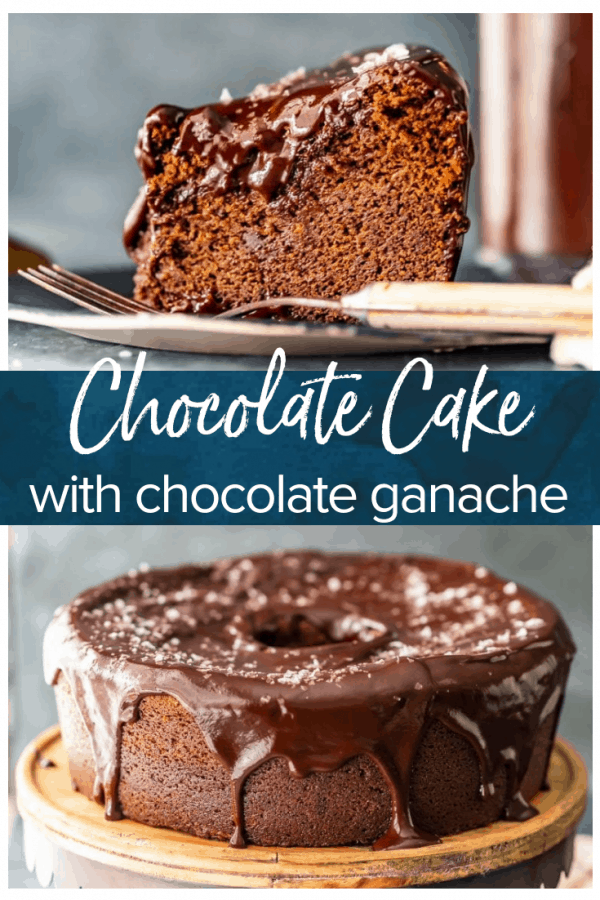 This Velvet Chocolate Cake recipe with Chocolate Ganache Icing is EVERYTHING I need for a Christmas dessert! This cake is so moist & velvety smooth!