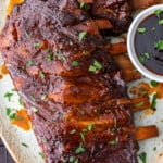 crock pot ribs featured image