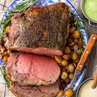 Prime Rib Roast is a fantastic main dish for any special meal. This is the best prime rib roast recipe, and it's pretty easy too! Learn how to cook prime rib roast for Christmas, Easter, or any other holiday.