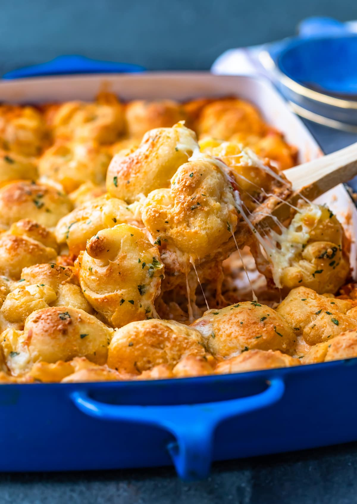 garlic bread pizza casserole