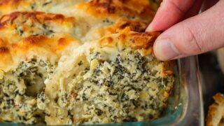 Spinach Artichoke Dip Pull Apart Bread Recipe