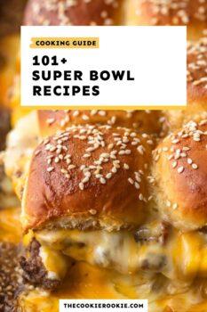 super bowl recipes guide