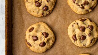 BEST Gluten Free Chocolate Chip Cookies