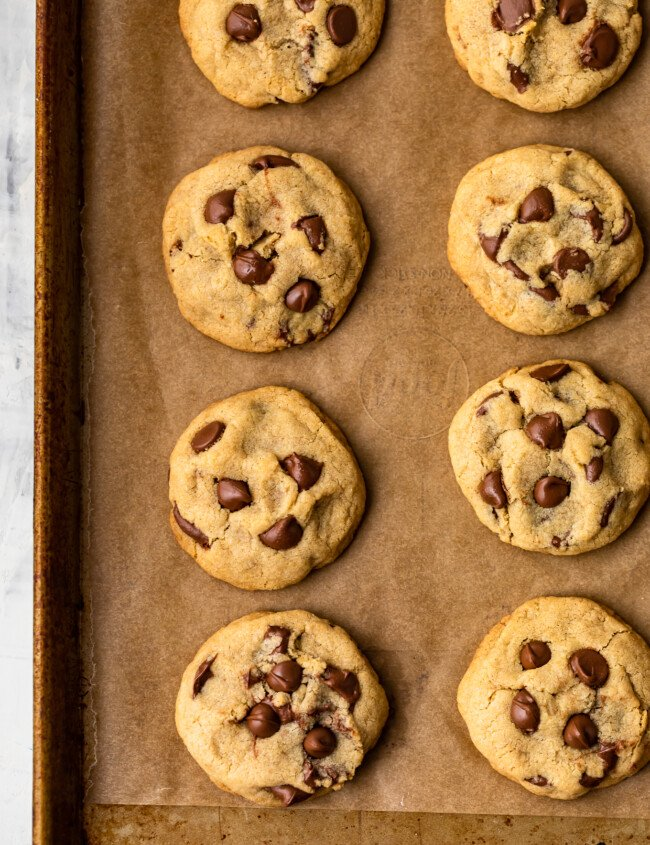 This Gluten Free Chocolate Chip Cookies recipe is super soft, moist, chewy, and delicious! Yes, you can make soft and chewy chocolate chip cookies without gluten, and boy are they good. Plus we added a special ingredient (it's cornstarch) to make them extra chewy.