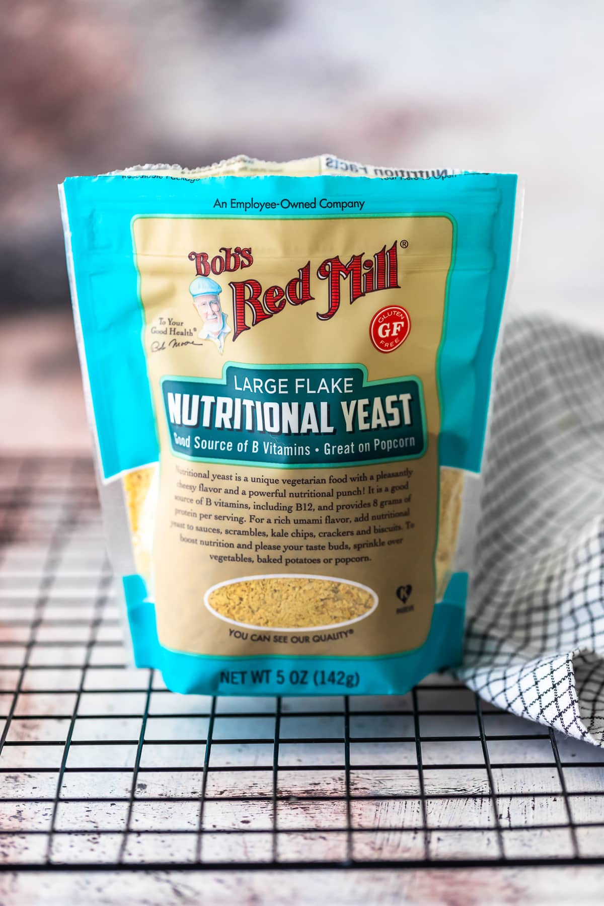 bag of Bob's Red Mill nutritional yeast