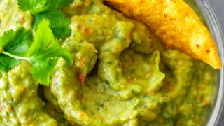 Food Processor Guacamole Recipe (EASY Guacamole)