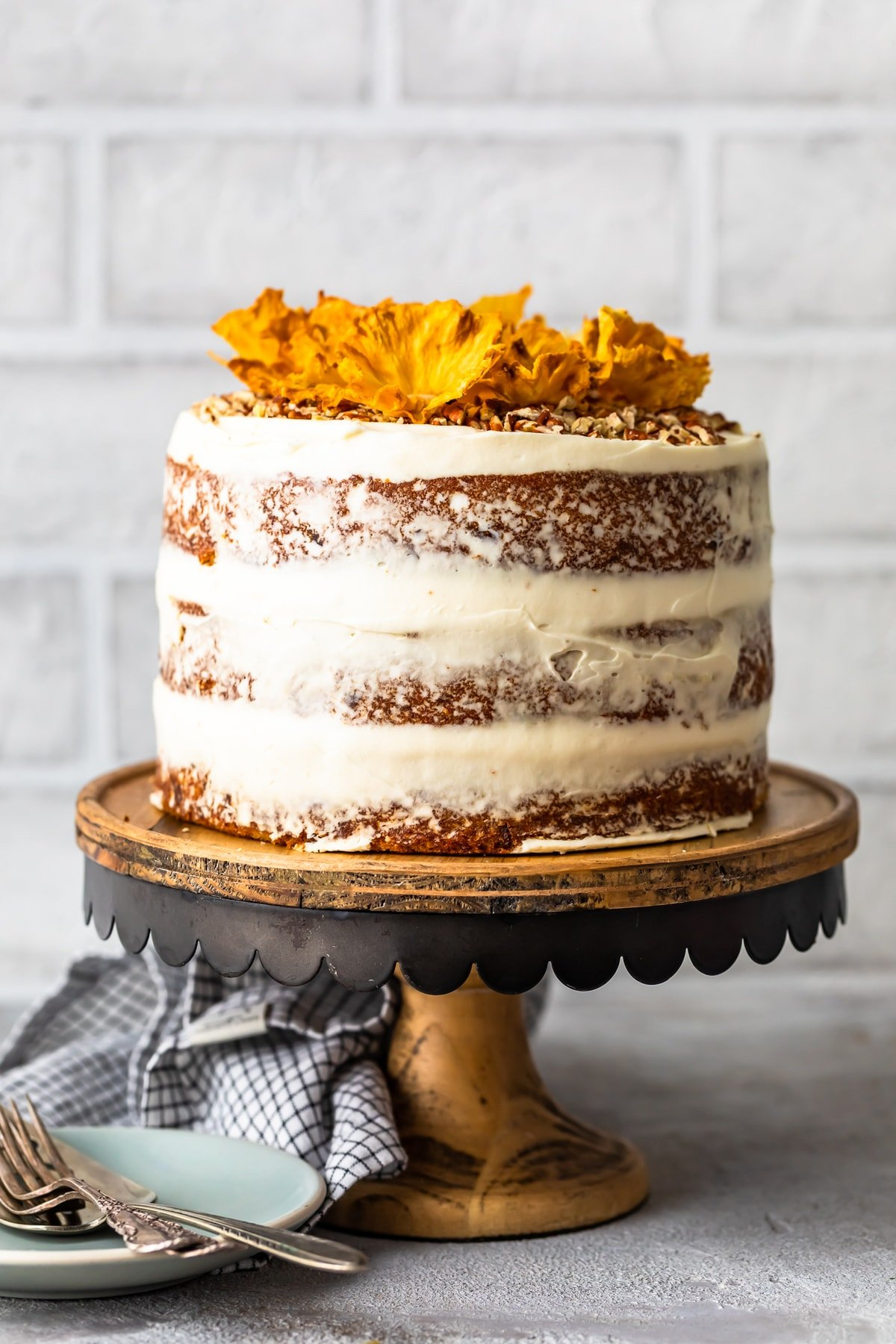 hummingbird cake with cream cheese frosting